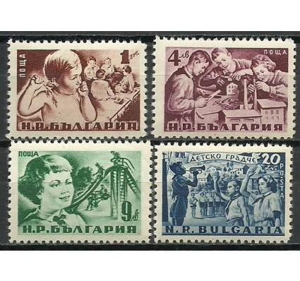 Znaczek Bułgaria 1951 Mi 801-804 Czyste **