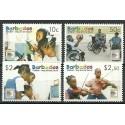 Barbados 2006 Mi 1123-1126 Czyste **