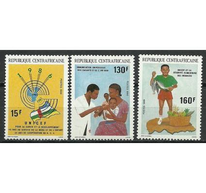 Znaczek Republika Środkowoafrykańska 1986 Mi 1251-1253 Czyste **