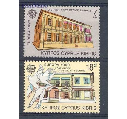 Znaczek Cypr  1990 Mi 748-749 Czyste **