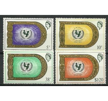 Znaczek Dominika 1971 Mi 319-322 Czyste **