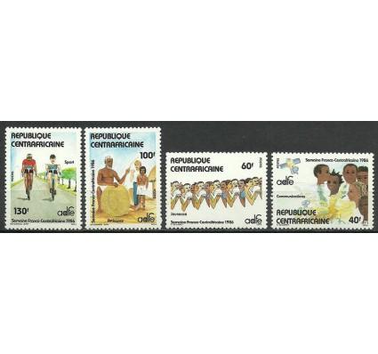Znaczek Republika Środkowoafrykańska 1986 Mi 1212-1215 Czyste **