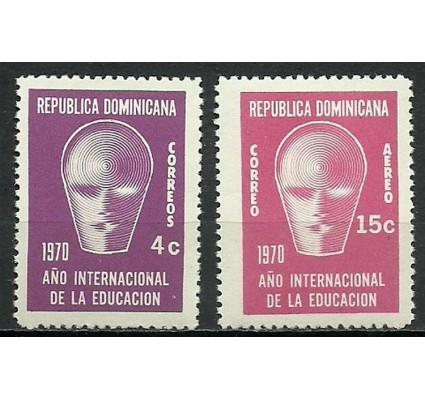 Znaczek Dominikana 1970 Mi zwa 964-965 Czyste **