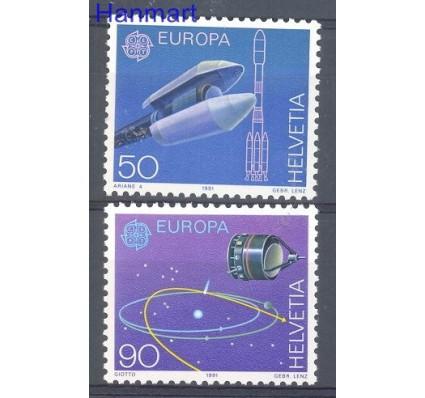 Znaczek Szwajcaria 1991 Mi 1444-1445 Czyste **