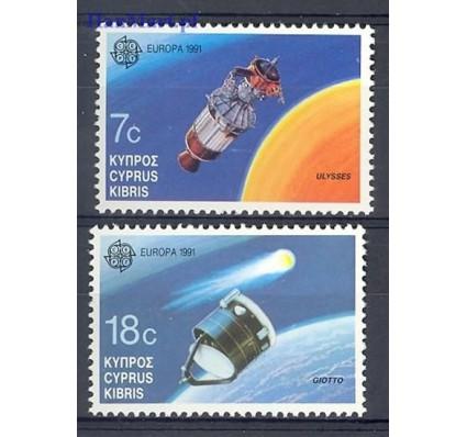 Znaczek Cypr  1991 Mi 771-772 Czyste **
