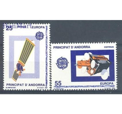 Znaczek Andora Hiszpańska 1991 Mi 221-222 Czyste **