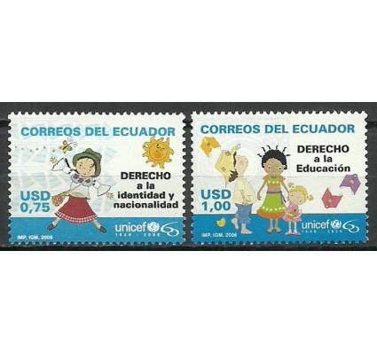Znaczek Ekwador 2006 Mi 2918-2919 Czyste **
