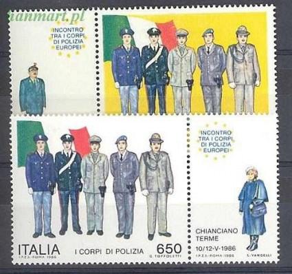 Znaczek Włochy 1986 Mi zf 1973-1974 Czyste **