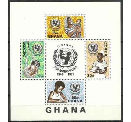 Znaczek Ghana 1971 Mi bl 44 Czyste **