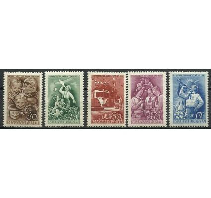 Znaczek Węgry 1951 Mi 1165-1152 Z podlepką *