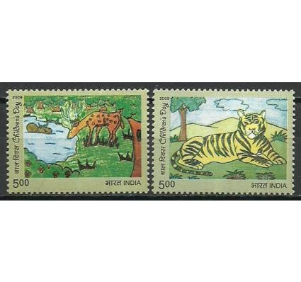 Znaczek Indie 2009 Mi 2432-2433 Czyste **