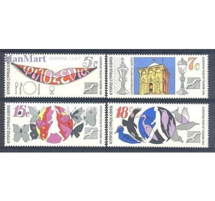 Znaczek Cypr  1990 Mi 750-753 Czyste **
