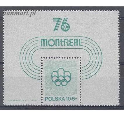 Polska 1975 Mi bl 61 Fi bl 95 Czyste **