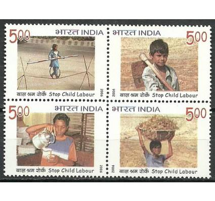 Znaczek Indie 2006 Mi 2181-2184 Czyste **
