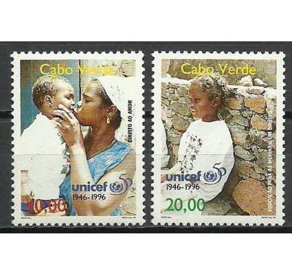 Znaczek Wyspy Zielonego Przylądka 1996 Mi 714-715 Czyste **