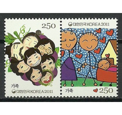 Znaczek Korea Południowa 2011 Mi 2814-2815 Czyste **