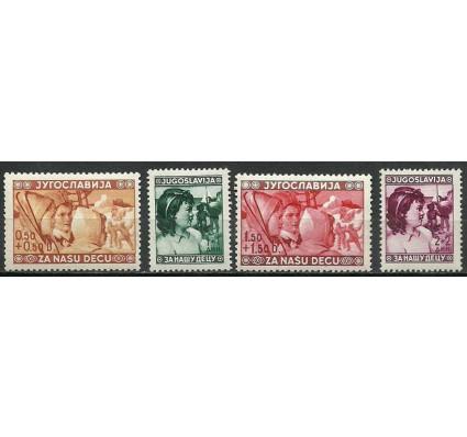 Znaczek Jugosławia 1940 Mi 418-421 Czyste **