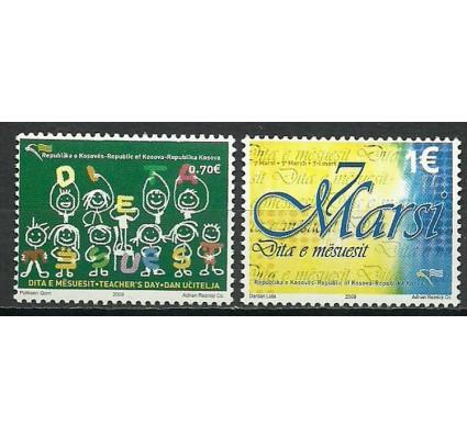 Znaczek Kosowo 2008 Mi 93-94 Czyste **