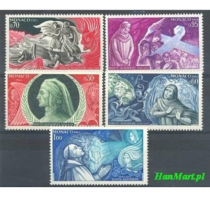Znaczek Monako 1966 Mi 818-822 Czyste **