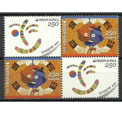 Znaczek Korea Południowa 2010 Mi 2744-2745 Czyste **