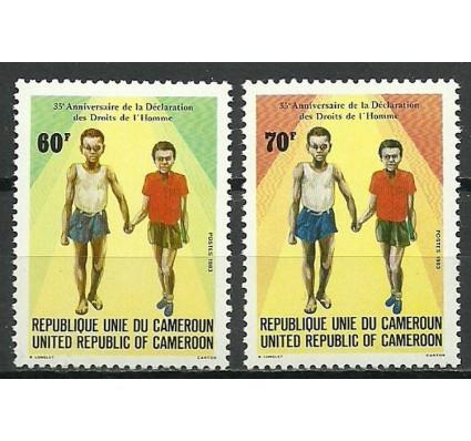 Znaczek Kamerun 1983 Mi 1026-1027 Czyste **