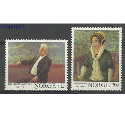 Znaczek Norwegia 1982 Mi 870-871 Czyste **