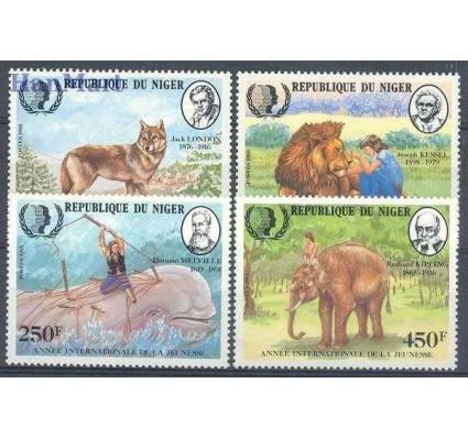 Znaczek Niger 1985 Mi 933-936 Czyste **