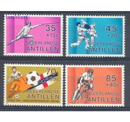 Znaczek Antyle Holenderskie 1982 Mi 463-466 Czyste **