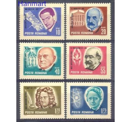 Znaczek Rumunia 1967 Mi 2607-2612 Czyste **