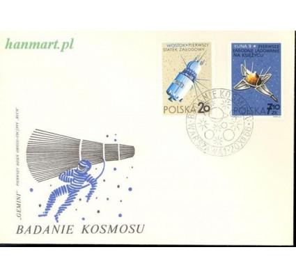 Znaczek Polska 1966 Mi 1730-1737 Fi 1582-1589 FDC