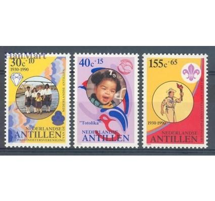 Znaczek Antyle Holenderskie 1990 Mi 682-684 Czyste **