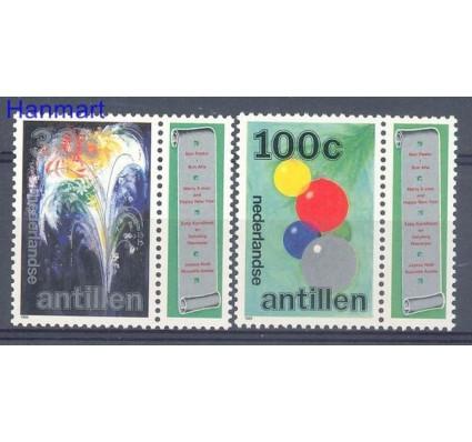 Znaczek Antyle Holenderskie 1989 Mi 674-675 Czyste **