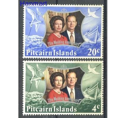 Znaczek Pitcairn 1972 Mi 127-128 Czyste **