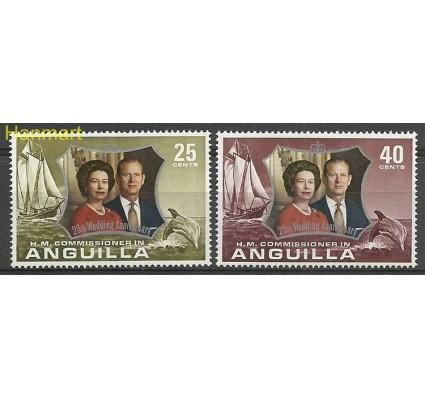Znaczek Anguilla 1972 Mi 160-161 Czyste **