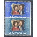Antigua i Barbuda 1972 Mi 284-285 Czyste **