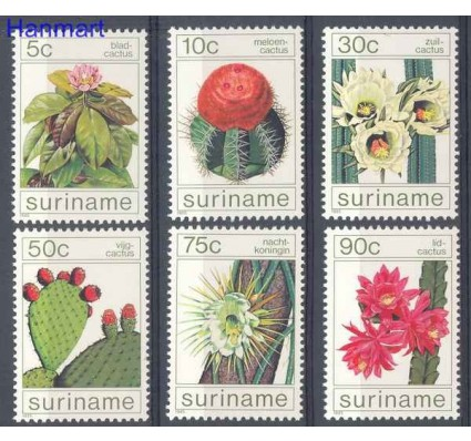 Znaczek Surinam 1985 Mi 1114-1119 Czyste **