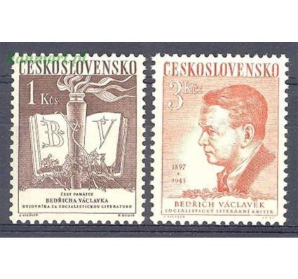 Znaczek Czechosłowacja 1953 Mi 788-789 Czyste **