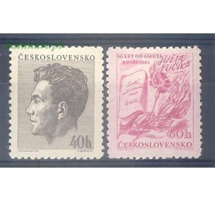 Znaczek Czechosłowacja 1953 Mi 819-820 Czyste **