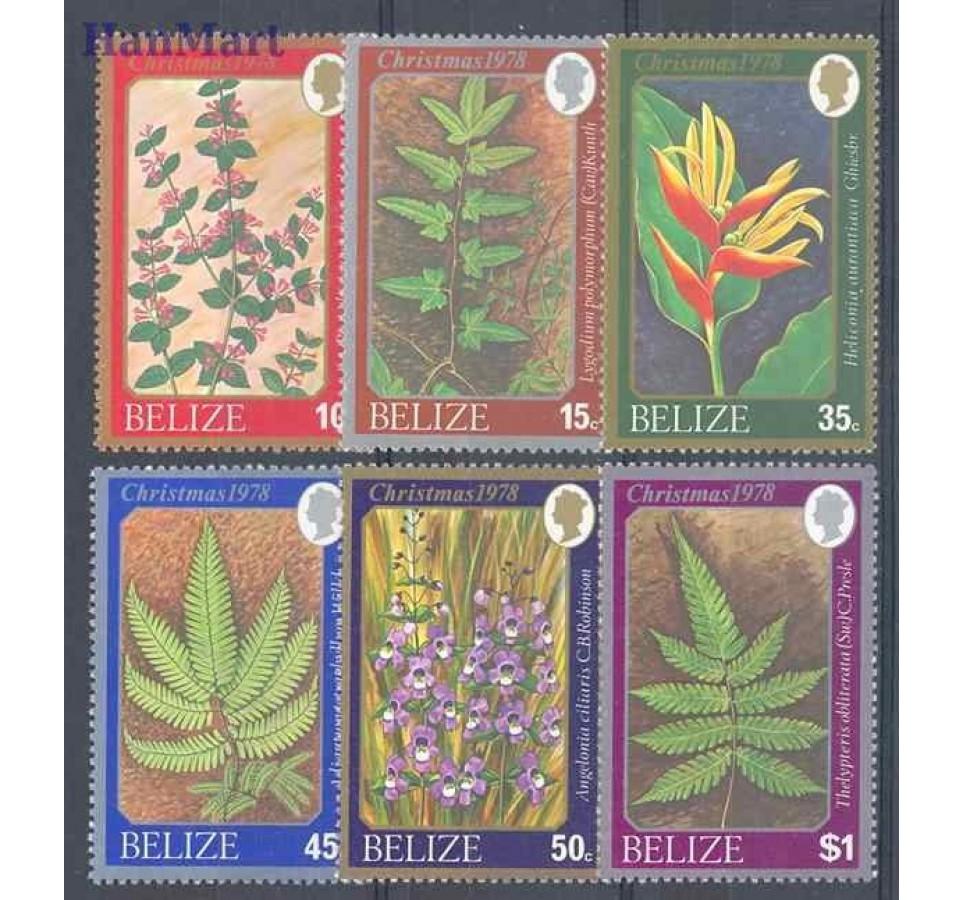 Belize 1978 Mi 390-395 Czyste **