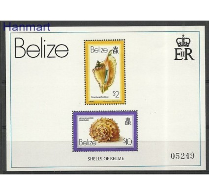 Znaczek Belize 1980 Mi bl 15 Czyste **