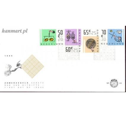 Znaczek Holandia 1986 Mi 1288-1291 FDC