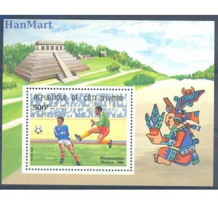 Znaczek Wybrzeże Kości Słoniowej 1985 Mi bl 27 Czyste **