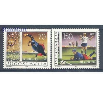 Znaczek Jugosławia 1986 Mi 2152-2153 Czyste **