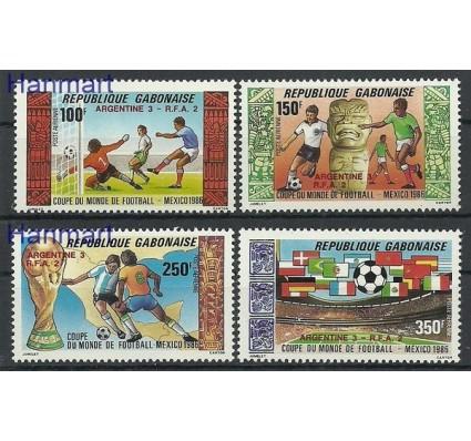Znaczek Gabon 1986 Mi 972-975 Czyste **