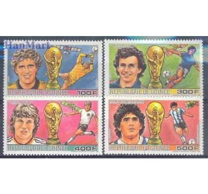 Znaczek Gwinea 1986 Mi 1134-1137 Czyste **