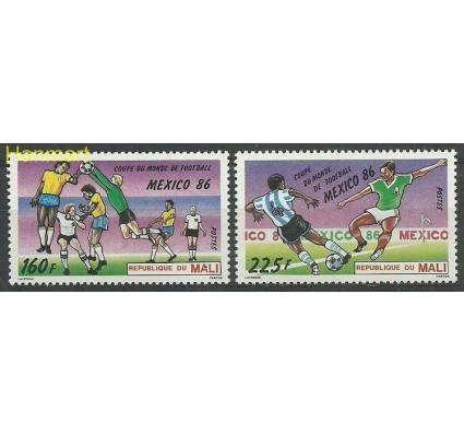 Znaczek Mali 1986 Mi 1068-1069 Czyste **