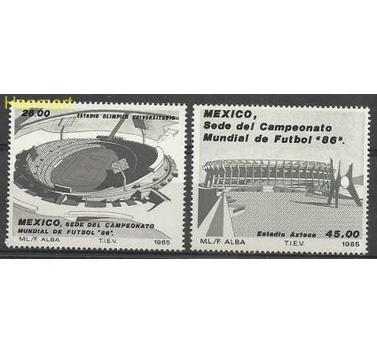 Znaczek Meksyk 1985 Mi 1971-1972 Czyste **