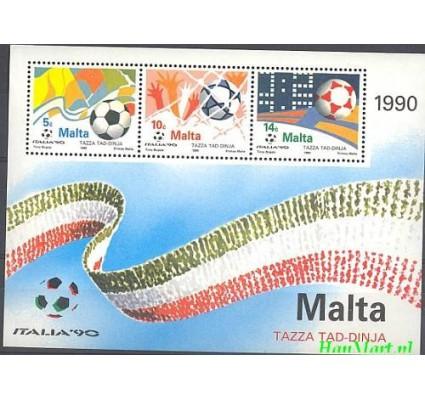 Znaczek Malta 1990 Mi bl 11 Czyste **