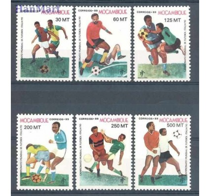 Znaczek Mozambik 1989 Mi 1166-1171 Czyste **