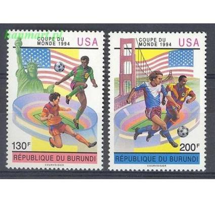 Znaczek Burundi 1993 Mi 1784-1785 Czyste **